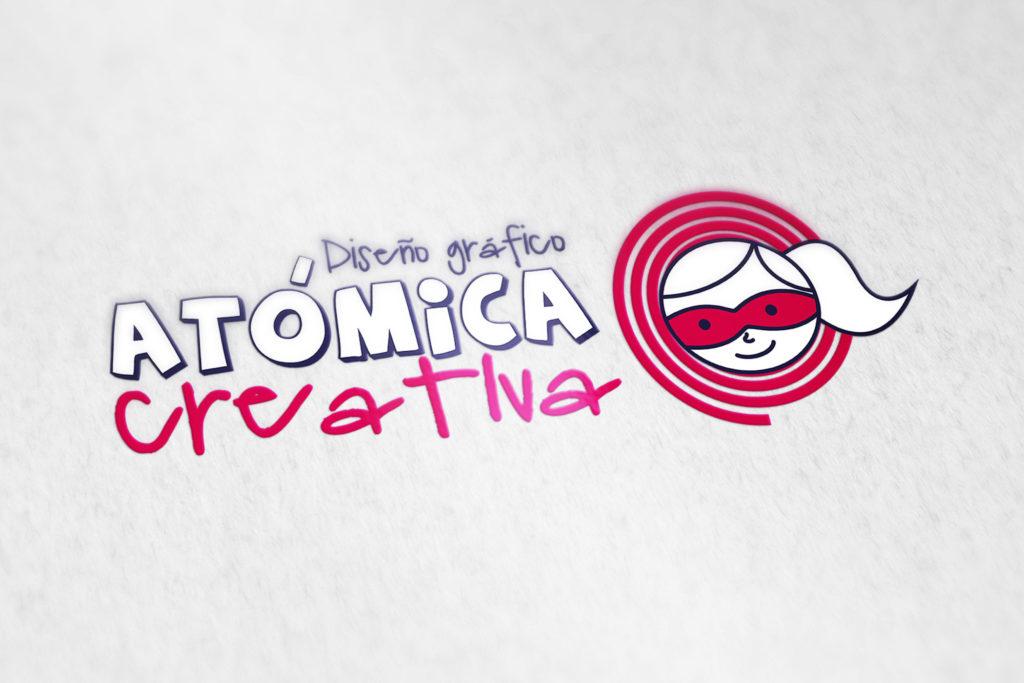Logo Atómica Creativa
