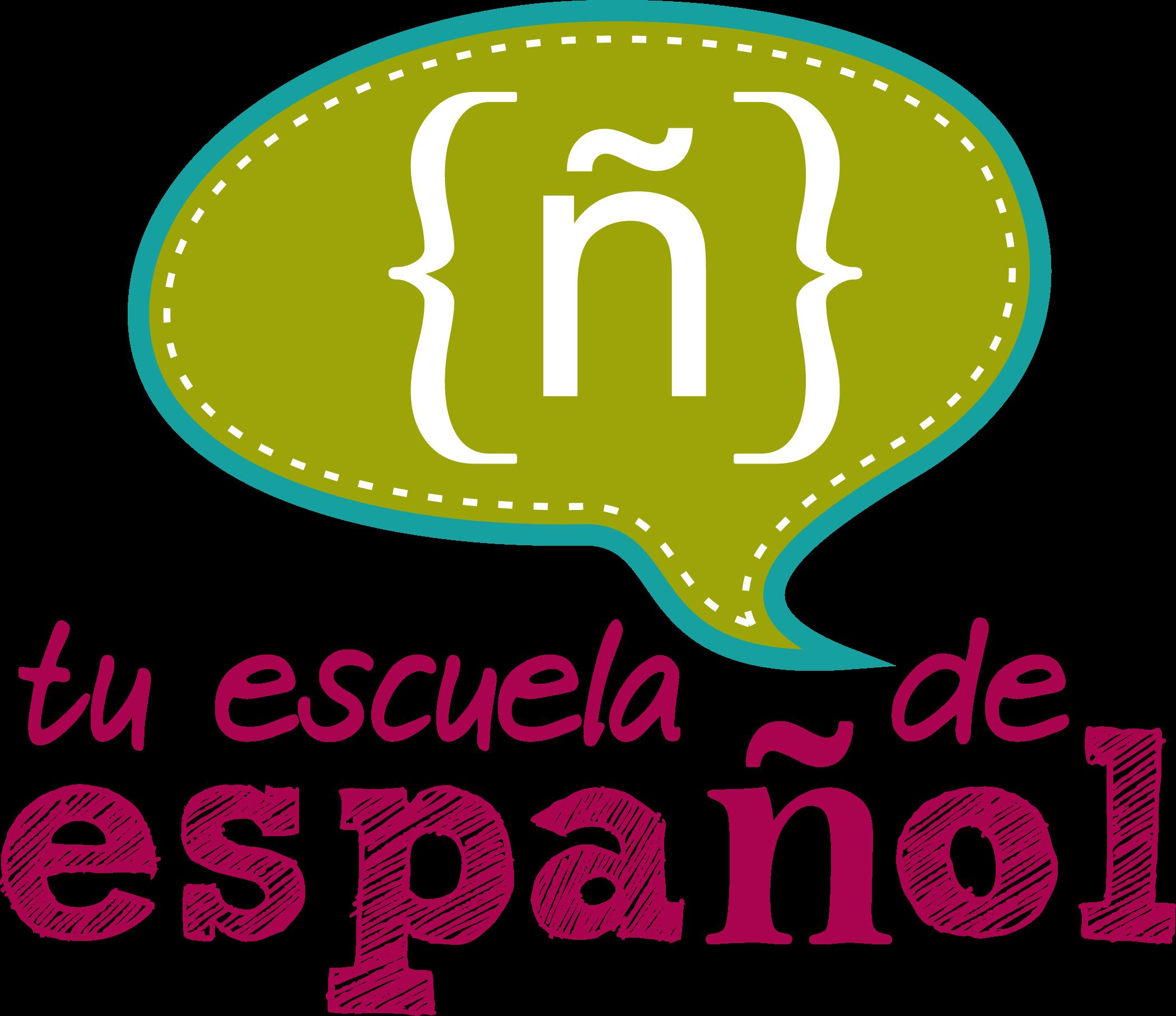 Logo vertical para Tu escuela de español