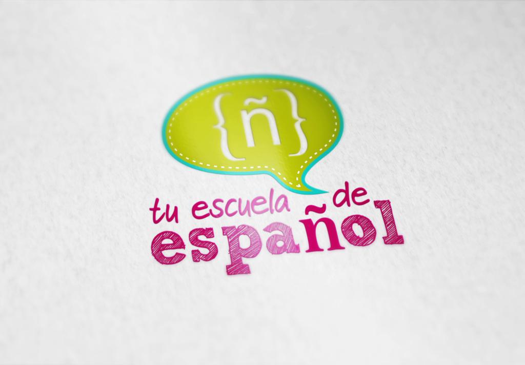 Logo para tu escuela de español