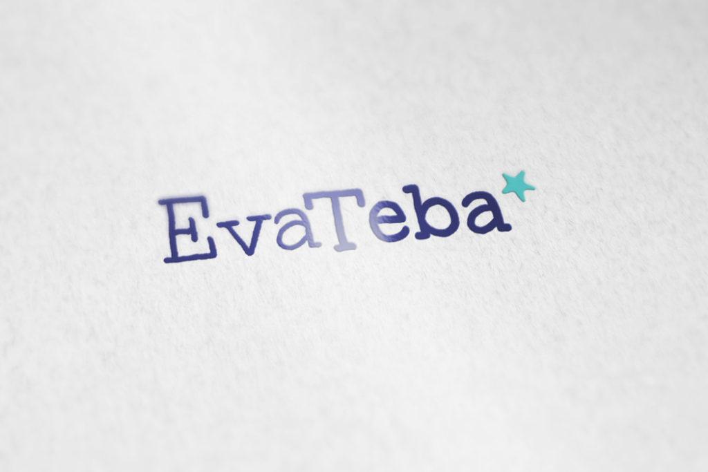 Identidad gráfica para Eva Teba, logo